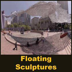 Floating Sculptures
