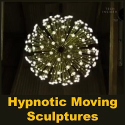 Hypnotic Moving Sculptures