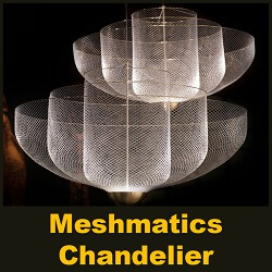 Design Dreams: Rick Tegelaar on Meshmatics Chandelier