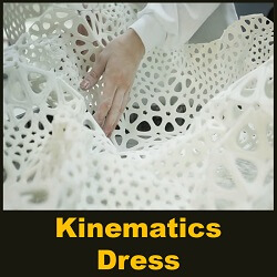 Kinematics Dress by Nervous System - 3D Printed by Shapeways