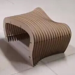 Design and Fabrication of Parametric Chair