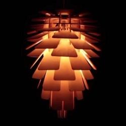 Design a wooden lamp