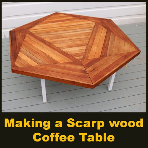 Making a Scarp wood Coffee Table - Parametric Design