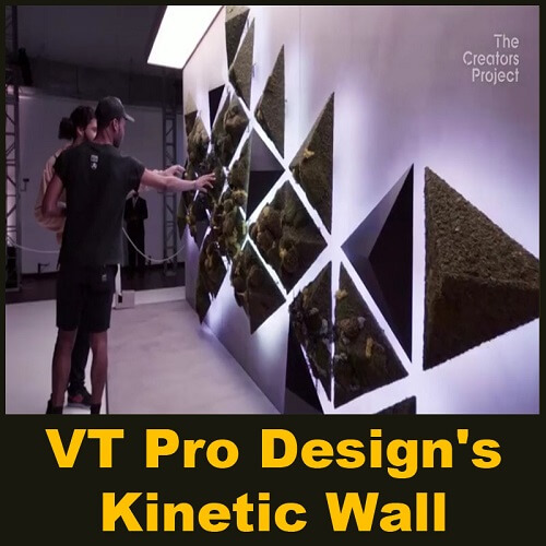 VT Pro Design's Kinetic Wall - Parametric Design