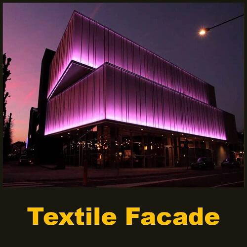 Textile Facade - Parametric Design