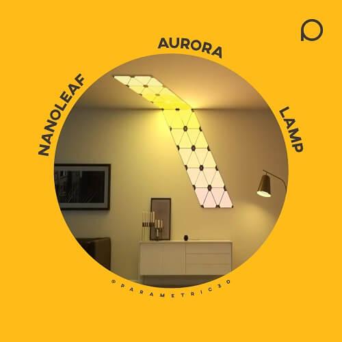 Nanoleaf Aurora - Parametric Design