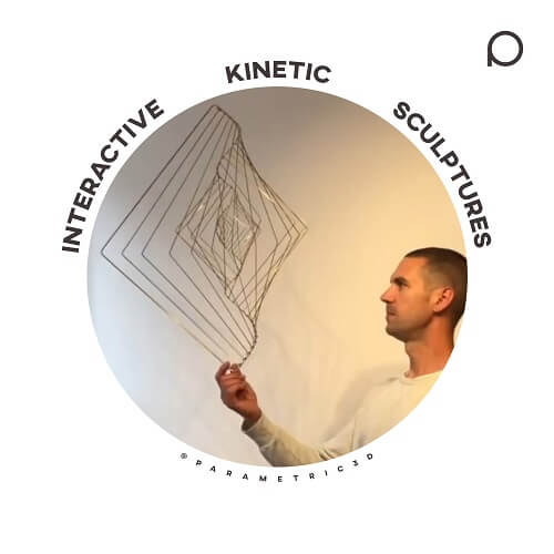 Interactive Kinetic Sculptures - Parametric Design