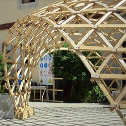 Performative Wood GridShell Siracusa