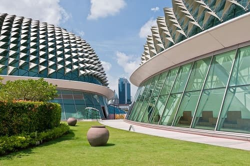 Biomimicry Architecture - Esplanade theater