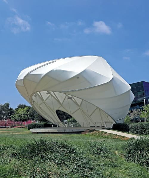 Architecture Design #1 - Cable Tensile Structure