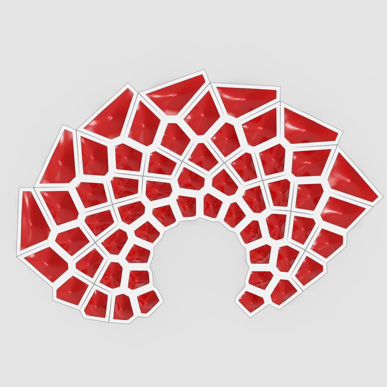 Voronoi Pattern Sunflower