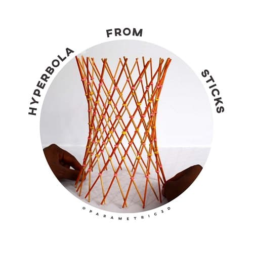 Hyperbola From Sticks