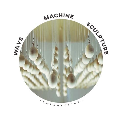 Wave Machine Sculpture