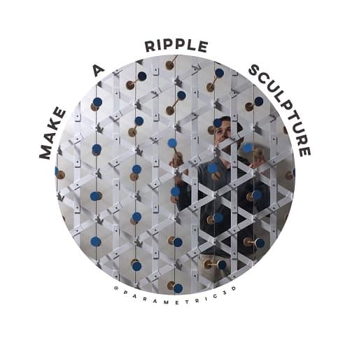Make A Ripple kinetic sculpture
